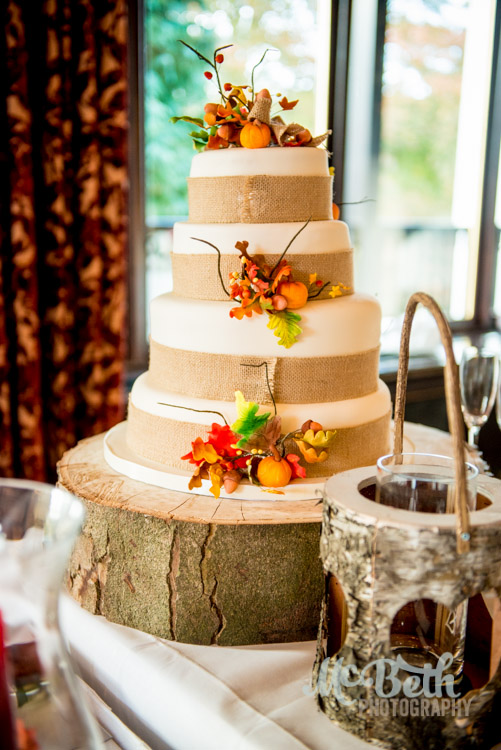 Wedding cake at Brig O Doon house hotel