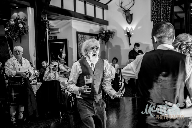 Wedding dance at Brig O Doon house hotel