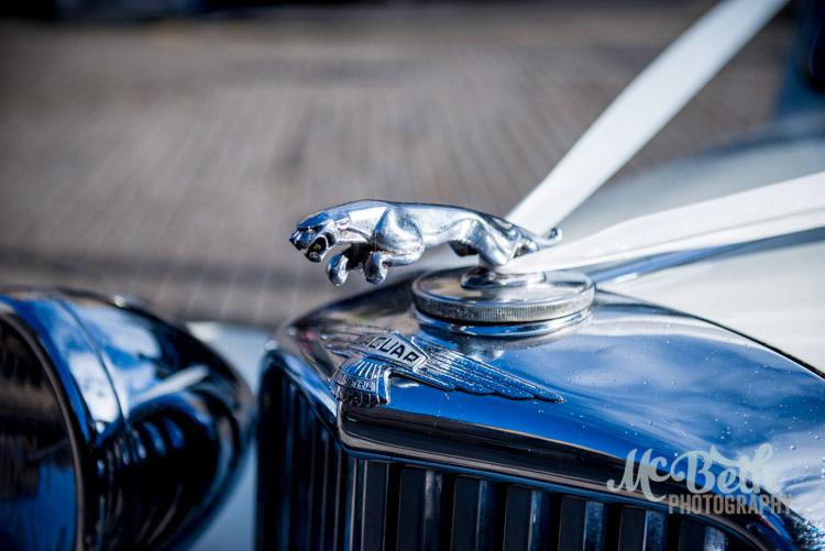 jaguar wedding car