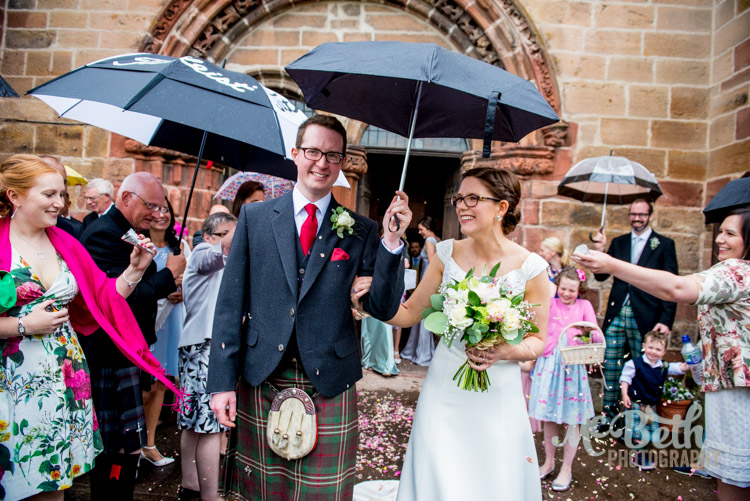 East Lothian wedding